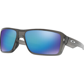 Oakley Double Edge Grey Smoke/Prizm Sapphire Polarized